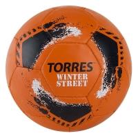 Мяч для футбола TORRES Winter Street Orange F02028