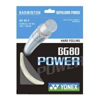 Струна для бадминтона Yonex 10m BG-80 Power White