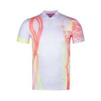 Поло Bidi Badu Polo Shirt M Kofi Tech White/Coral M26009202