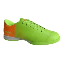Бутсы футбольные Indoor Novus NSB-22 Light Green/Orange