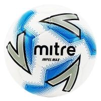 Мяч для футбола MITRE Impel Max White/Cyan BB1120WIB