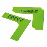 Разметочный набор уголков для корта x4 TOOLZ 43016