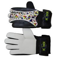 Перчатки вратарские Novus NFG-01 Black/White