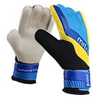 Перчатки вратарские MITRE Magnetite Black/Cyan/Yellow G70008BCY