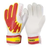Перчатки вратарские TORRES Junior White/Red FG0501