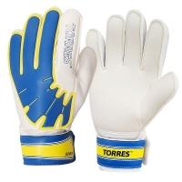 Перчатки вратарские TORRES Junior White/Cyan FG0502