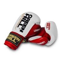 Перчатки боксерские GREEN HILL LEGEND Red/White BGL-2246-RD