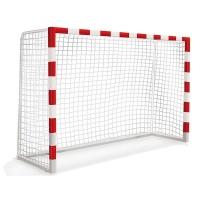 Сетка для ворот гандбол/футзал 3.5mm x2 White АТ197