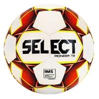 Мяч для футбола SELECT Pioneer TB White/Red 810221-274