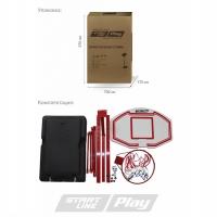 Стойка баскетбольная Мобильная Start Line 900x600mm h2.10-2.60m Junior 003B SLP-003B