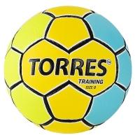 Мяч для гандбола TORRES Training Yellow/Cyan H3215