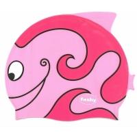 Шапочка для плавания FASHY Childrens Silicone Cap Junior Pink 3048-00-43