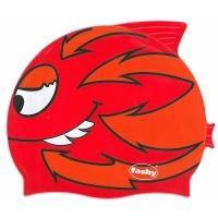 Шапочка для плавания FASHY Childrens Silicone Cap Junior Red 3048-00-60