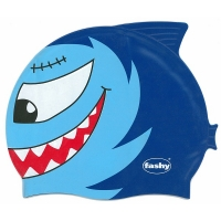 Шапочка для плавания FASHY Childrens Silicone Cap Junior Cyan/Blue 3048-00-75