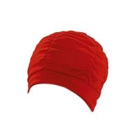 Шапочка для плавания FASHY With Plastic Lining Red 3403-40