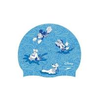 Шапочка для плавания SPEEDO Mickey Mouse Slogan Cap Junior Cyan/White 8-08386D678