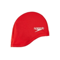 Шапочка для плавания SPEEDO Polyester Cap Junior Red 8-710110004
