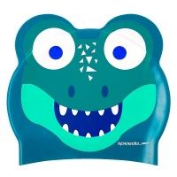 Шапочка для плавания SPEEDO Printed Character Croc Junior Green 8-12240D680