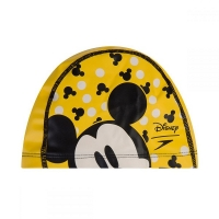 Шапочка для плавания SPEEDO Printed Polyester Cap Junior Yellow 8-113077123