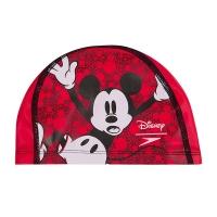 Шапочка для плавания SPEEDO Printed Polyester Cap Junior Red/White 8-11307C872
