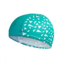 Шапочка для плавания SPEEDO Printed Polyester Cap Junior Green/White 8-12241D680
