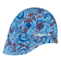 Шапочка для плавания SPEEDO Sea Squad Polyester Cap Junior Blue 8-07997A264