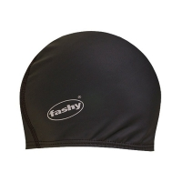Шапочка для плавания FASHY PU-Lycra Cap Long Black 3059-20