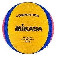 Мяч для водного поло Mikasa W6608 5W Yellow/Blue/Pink