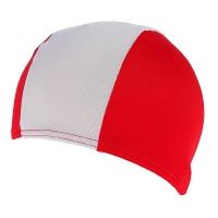 Шапочка для плавания FASHY Polyester Cap White/Red 3236-00-15