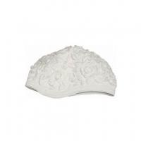 Шапочка для плавания FASHY Latex Ornament Cap White 3102-00-10