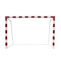 Ворота гандбол/футзал 3x2m переносные усиленные x2 White/Red AVIX 3.05