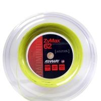 Струна для бадминтона Ashaway 200m Zymax 62 Yellow