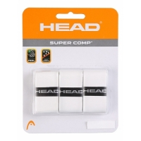 Обмотка для ручки Head Overgrip Super Comp x3 White 285088