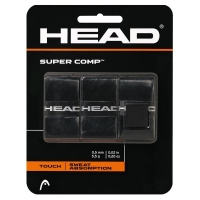 Обмотка для ручки Head Overgrip Super Comp x3 Black 285088