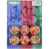 Мячи Joola Multicolor x6 Assorted 42148