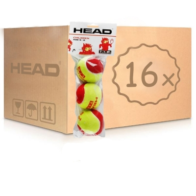 Мячи для тенниса Head Red Felt Tip 3b Box x48 578113