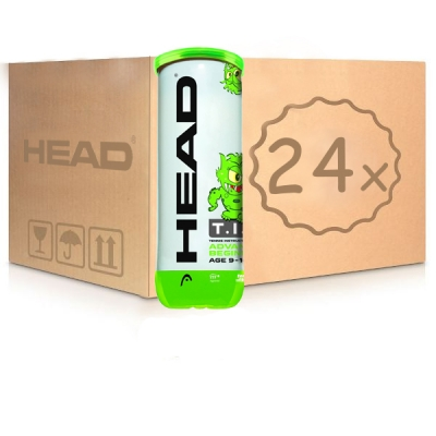 Мячи для тенниса Head Green Tip 3b Box x72 578133