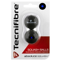 Мячи для сквоша Tecnifibre 1-Blue x2 54BASQUBLU