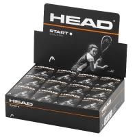 Мячи для сквоша Head 1-White Start 1b x12 287346