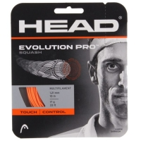 Струна для сквоша Head 10m Evolution Pro Orange 281209