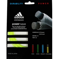 Струна для бадминтона Adidas 10m Power Hybrid Green