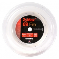 Струна для бадминтона Ashaway 200m Zymax Fire 69 A14159 White