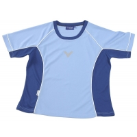 Футболка Victor T-shirt W 665 Lightblue Cyan