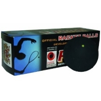 Мячи для ракетбола Black Knight Price Yellow Dot x3 ACRB-UK-3 Black