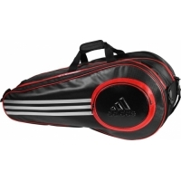 Чехол 4-6 ракеток Adidas Pro Line Double Thermobag Black/Red