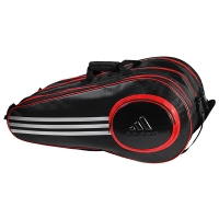 Чехол 7-9 ракеток Adidas Pro Line Triple Thermobag Black/Red