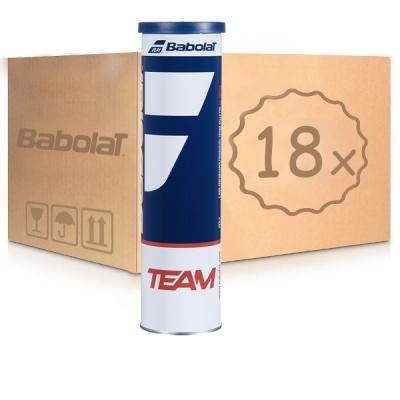 Мячи для тенниса Babolat Team 4b Box x72 502035