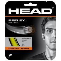 Струна для сквоша Head 10m Reflex Squash Yellow