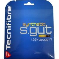Струна для тенниса Tecnifibre 12m Synthetic Gut Black