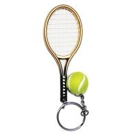Брелок Taan Keychain Mini Racket KEY1320PP Gold